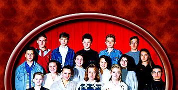 Памятный подарок к встрече одноклассников - CD с любимой музыкой прошлых лет и фотографией класса